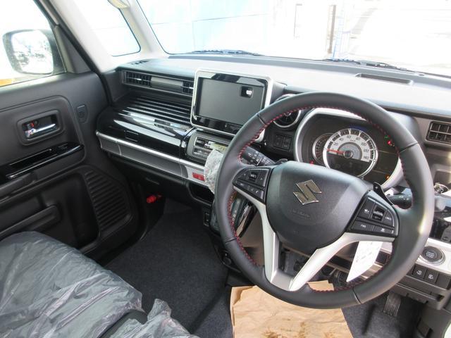 ハイブリッドXSターボ 4WD 全方位モニターパッケージ デュアルセンサーブレーキ&スズキセーフティサポート 寒冷地仕様 届出済未使用車 両側パワースライドドア ヘッドアップディスプレイ コーナーセンサー シートヒーター(22枚目)