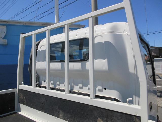 ワイド ロング フルジャストロー 荷台床鉄板張替仕上済 ディーゼルターボ NOX・PM法適合 DPF アオリ開閉補助装置 後輪ダブルタイヤ 最大積載量2000kg 三方開 ホイール組スタッドレス有(41枚目)