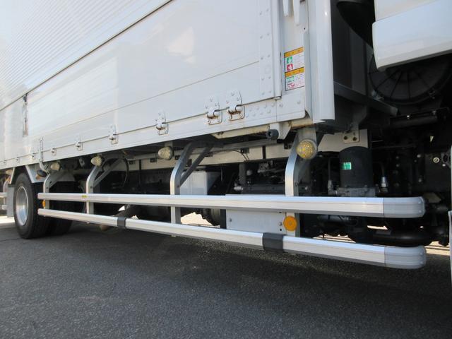 アルミウィング 最大積載量2800kg  導風板 シルバーメッキフロントバンパー&サイドミラー  バックモニター 荷室サイドラッシングレール アルミホイール 荷室内寸長さ620cm・幅222cm・高さ242cm(10枚目)