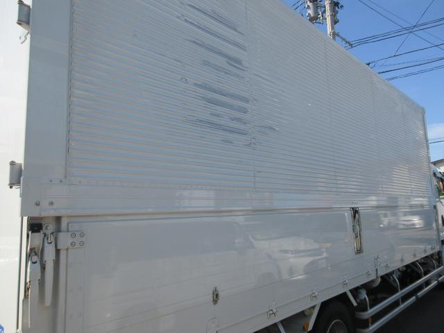 アルミウィング 最大積載量2800kg  導風板 シルバーメッキフロントバンパー&サイドミラー  バックモニター 荷室サイドラッシングレール アルミホイール 荷室内寸長さ620cm・幅222cm・高さ242cm(27枚目)