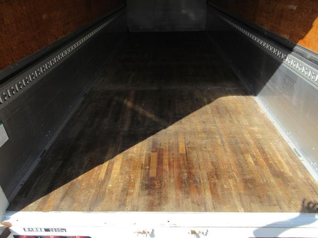 アルミウィング 最大積載量2800kg  導風板 シルバーメッキフロントバンパー&サイドミラー  バックモニター 荷室サイドラッシングレール アルミホイール 荷室内寸長さ620cm・幅222cm・高さ242cm(46枚目)