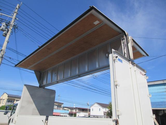 アルミウィング 最大積載量2800kg  導風板 シルバーメッキフロントバンパー&サイドミラー  バックモニター 荷室サイドラッシングレール アルミホイール 荷室内寸長さ620cm・幅222cm・高さ242cm(55枚目)