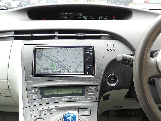 トヨタ プリウス S HDDナビ TV ETC スマートキー 15AW
