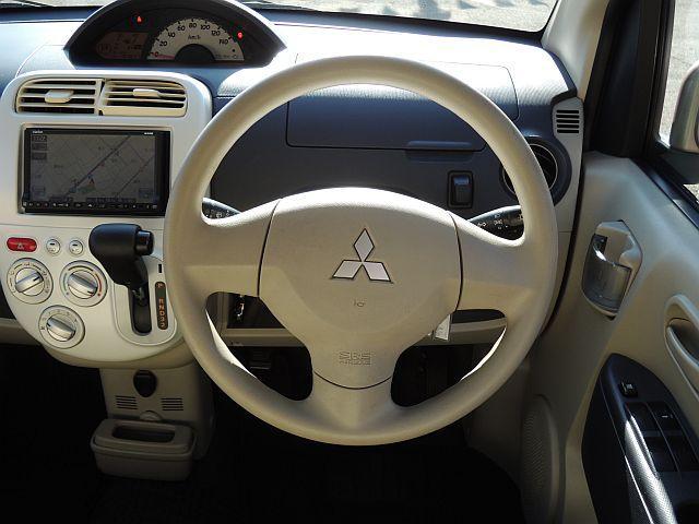 三菱 eKワゴン G HDDナビTV ETC ABS キーレス フルフラット