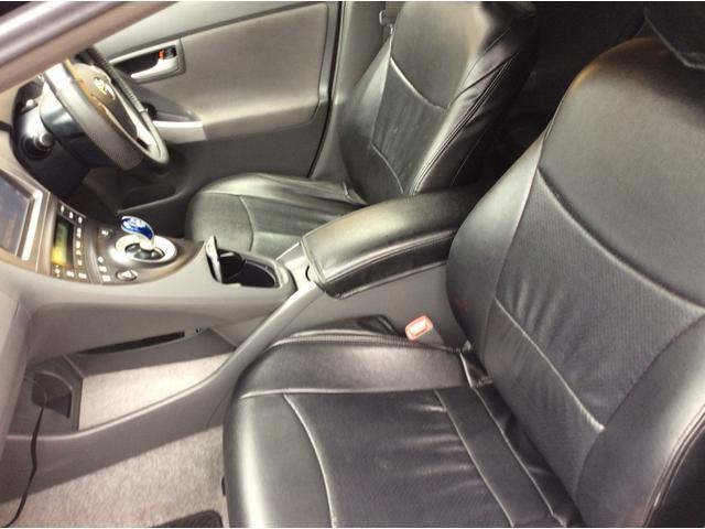 トヨタ プリウス S ナビTV スモークテール 社外フロントバンパー 17AW