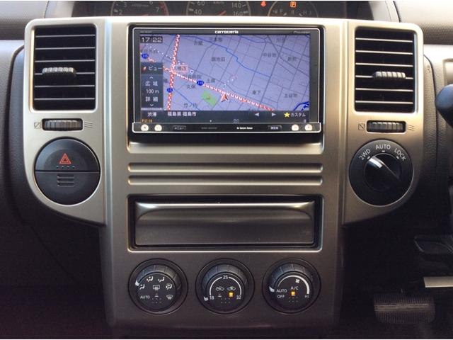 X 4WD ナビ フルセグ ETC DVD再生可 キーレス(10枚目)