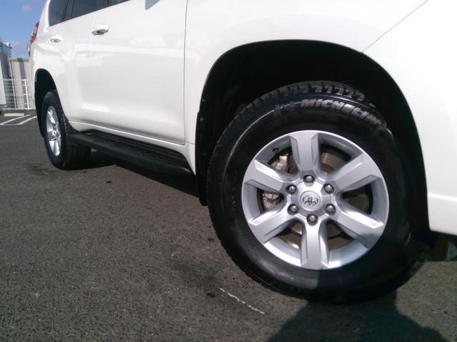 トヨタ ランドクルーザープラド TX ディーゼル 純正ナビ LEDヘッド ルーフレール