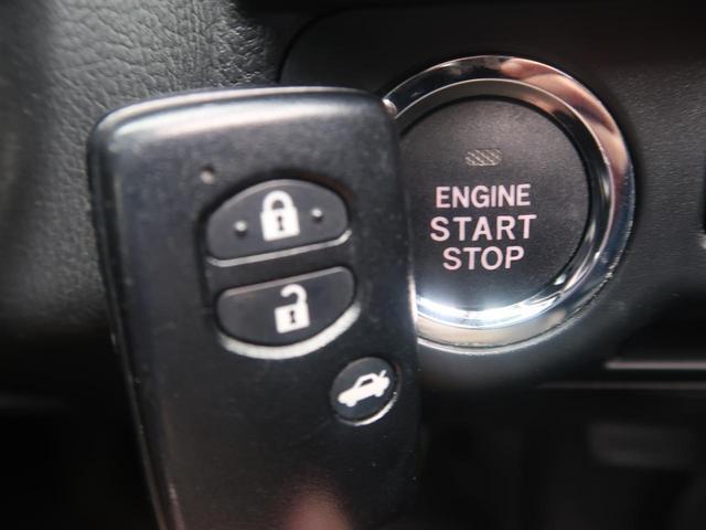 キーレス&プッシュスタート装備でございます。鍵の開け閉めからエンジンの始動まで楽々行うことが可能です。