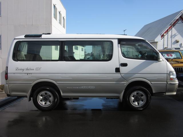 リビングサルーンEXディーゼル4WD8人乗4ナンバー変更可能(6枚目)