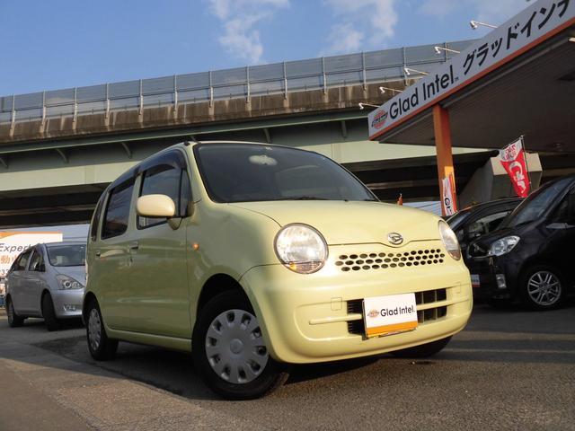車体色は、ダイハツの「バナナシェイクメタリック」です!新車時のカタログカラーで、ムーブラテの中でも人気のあるカラーです♪