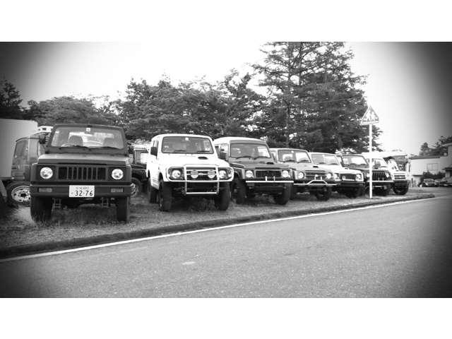 他にもGooに掲載していない車両を、大量に展示中です!ぜひ一度ご来店下さい!!お気に入りのお車が、きっと見つかります(^^*)