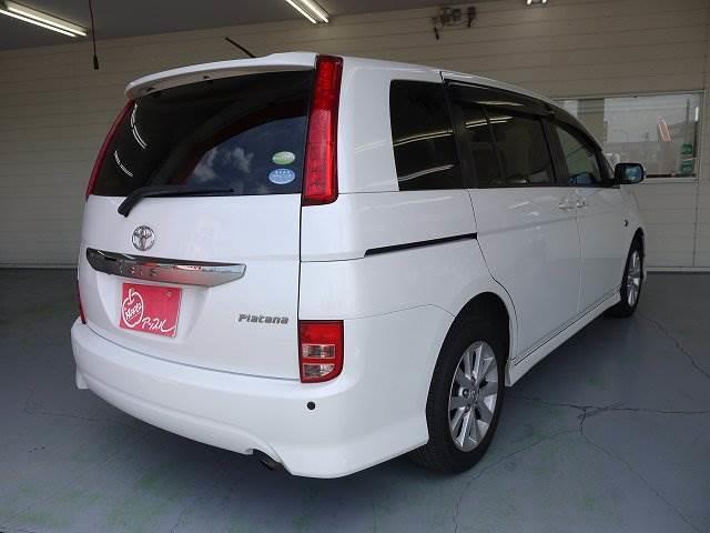 トヨタ アイシス プラタナ Uセレクション 4WD 両側パワースライドドア