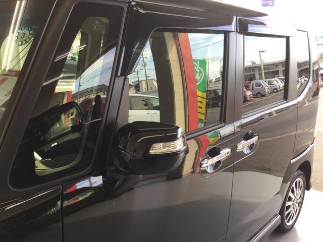 G・ターボLパッケージ 社外SDナビ・フルセグTV・バックビューカメラ 両側電動スライドドア ETC HIDヘッドライト エンジンスターター クルーズコントロール シートヒーター オートライト(17枚目)