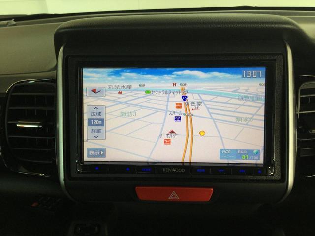 G・ターボLパッケージ 社外SDナビ・フルセグTV・バックビューカメラ 両側電動スライドドア ETC HIDヘッドライト エンジンスターター クルーズコントロール シートヒーター オートライト(25枚目)