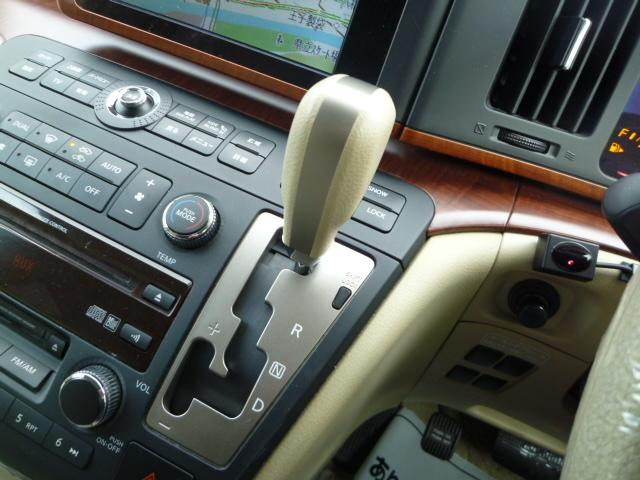 日産 エルグランド V 4WD 純正DVDナビ TV 純正アルミ