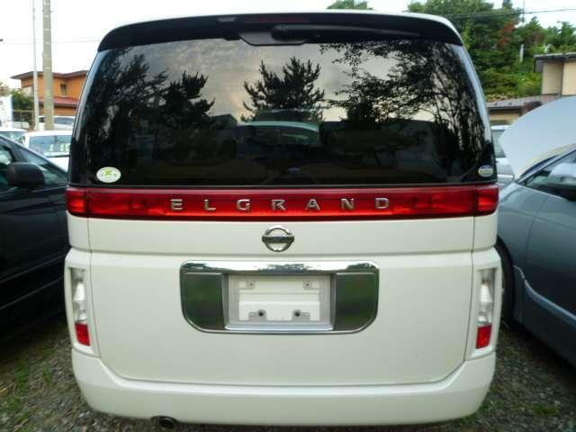 日産 エルグランド X 4WD 純正ナビ フルセグTV 社外アルミ キーレス