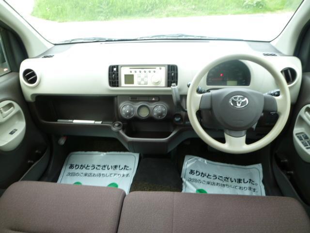 トヨタ パッソ 1.0 X  純正CD キーレス