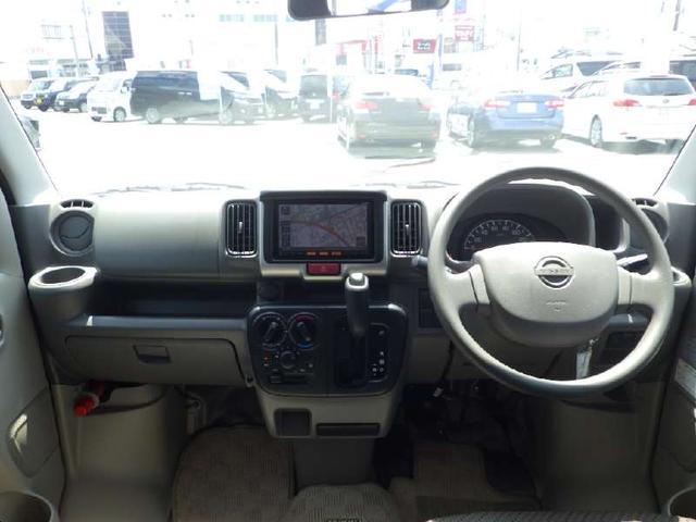 DX GLパッケージ 4WD 純正メモリーナビ フルセグ DVD Bluetooth バックカメラ 両側スライドドア フルフラットシート ヘッドライトレベライザー ETC キーレス Wエアバッグ ABS パワステ(3枚目)