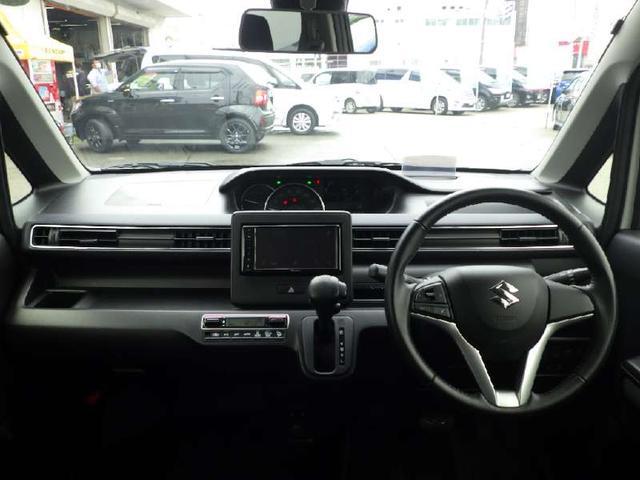 ハイブリッドFZ 4WD 社外オーディオディスプレイ DVD Bluetooth シートヒーター アイドリングストップ レーンアシスト 衝突被害軽減装置 純正エンジンスターター ヘッドアップディスプレイ LEDライト(3枚目)