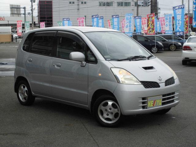 日産 モコ T 4WD ターボ 純正オーディオ CD再生 キーレスエン