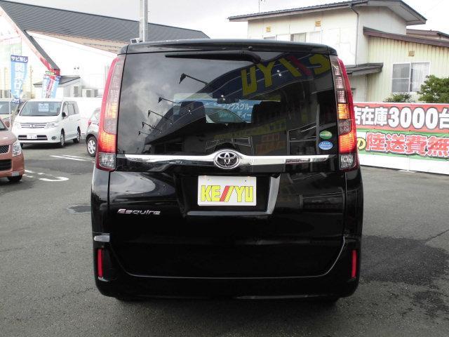 トヨタ エスクァイア Gi 4WD寒冷地仕様禁煙車 LEDヘッドライト両側電動ドア