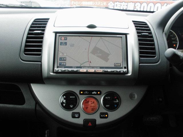 日産 ノート 15G FOUR 4WD禁煙車 SDナビDVD再生録音機能付