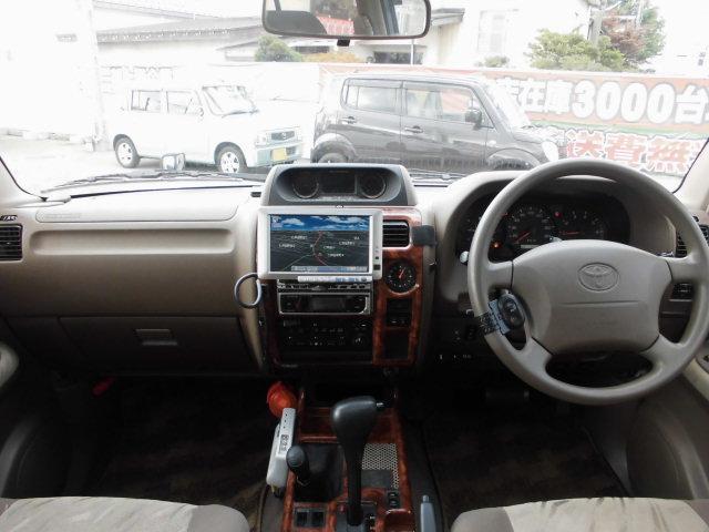 トヨタ ランドクルーザープラド TX 1オーナー サンルーフ ETC キーレス CD