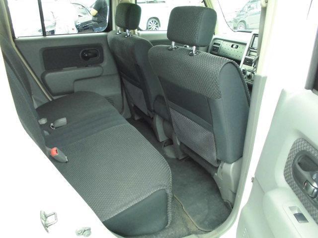 日産 キューブ 14S FOUR 4WD 1オーナー 禁煙車 メモリーナビ