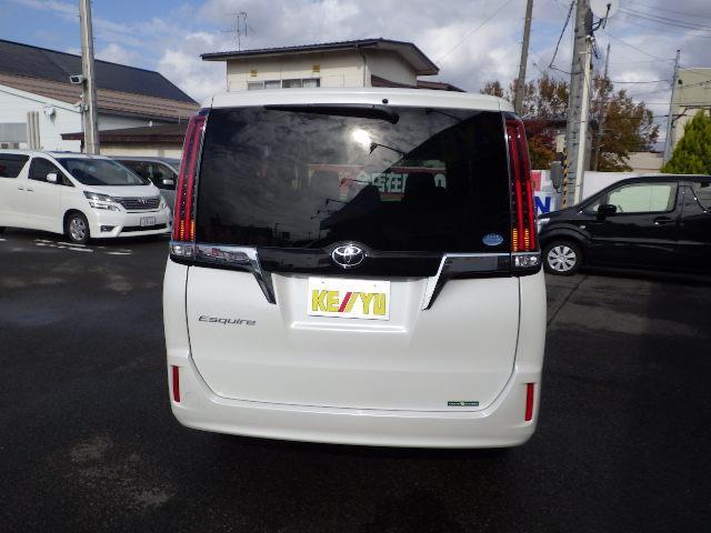 トヨタ エスクァイア Xi 4WD ウェルジョイン 衝突軽減システム 両側電動