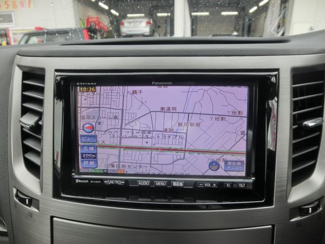 2.5GTアイサイトSパッケージ 4WD Stiフロントリップスポイラー 社外二本出しマフラー HDDナビ&フルセグTV&音楽録音&CD&DVD再生&ブルートゥース HID&フォグ 追従クルコン&レーンアシスト 電動ハーフレザーシート(6枚目)