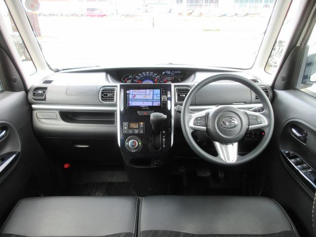 カスタムX SAIII 4WD 禁煙車 衝突軽減サポート レーンアシスト ドライブレコーダー エンジンスターター メモリーナビ&CD&DVD&フルセグTV&ブルートゥース&バックカメラ シートヒーター 左側電動スライドドア(4枚目)