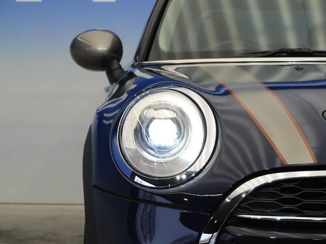 クーパーSD セブン 特別仕様車 チェック柄入りハーフレザーシート 純正17インチAW 純正HDDナビ レインセンサー オートライト LEDヘッドライト コンフォートアクセス エキサイトメントPKG ライトPKG 禁煙車(22枚目)