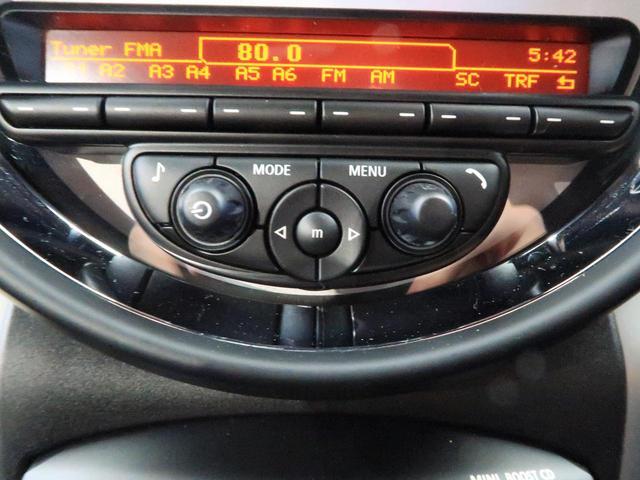 クーパー クロスオーバー 禁煙車 HIDヘッドランプ 純正AV CD再生 スマートキー 電動格納ミラー オートライト 純正16インチAW フロントリアフォグランプ オートエアコン(36枚目)