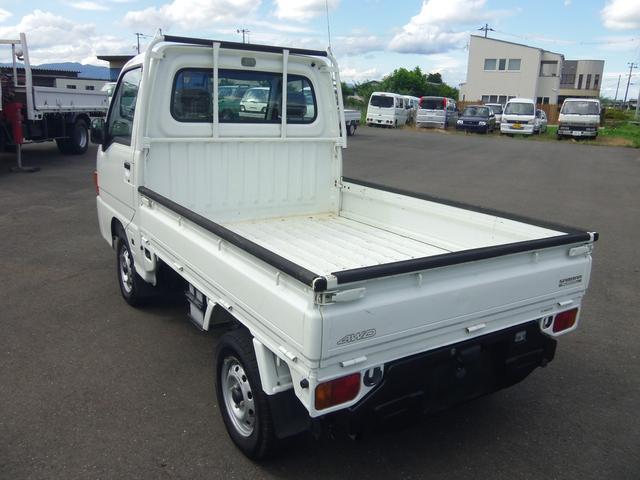 スバル サンバートラック TB 4WD 5速マニュアル 関東仕入