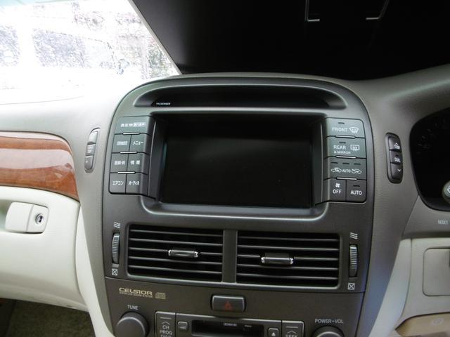 トヨタ セルシオ C仕様 メーカーナビ サンルーフ 本革レザーシート キーレス