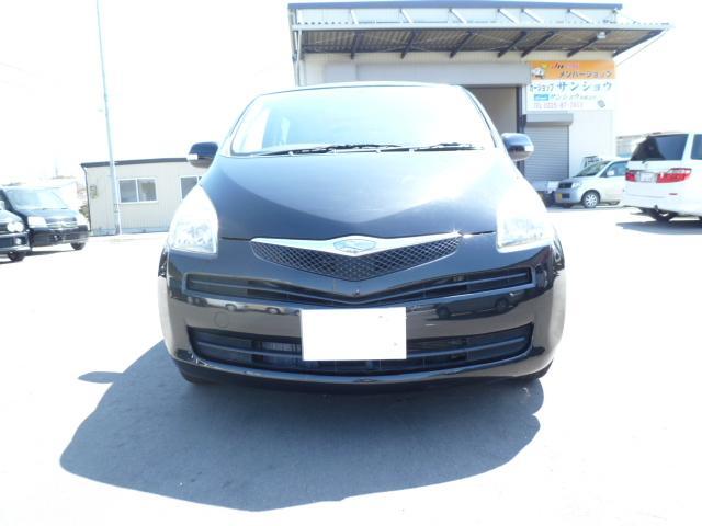 トヨタ ラクティス X キーレスキー アルミホイール CD フルフラットシート