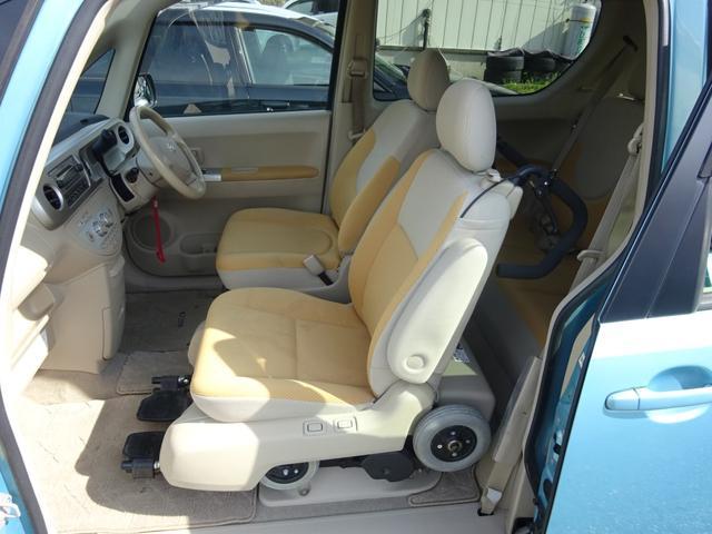 150r 福祉車両 サイドアクセス車 電動式脱着シート(8枚目)