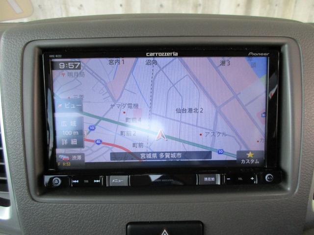 G カロッツェリアワンセグTVナビ ETC フルタイム4WD キーフリー シートヒーター 全国保証付(27枚目)