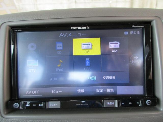 G カロッツェリアワンセグTVナビ ETC フルタイム4WD キーフリー シートヒーター 全国保証付(28枚目)
