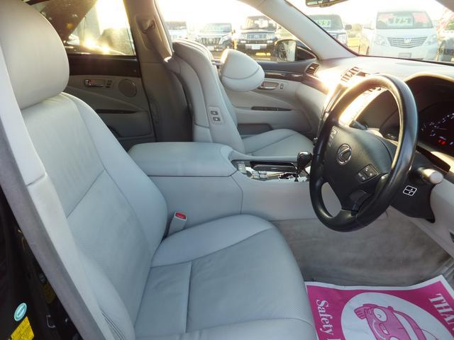 レクサス LS LS460 バージョンU 全席Pシート リア5面サンシェード