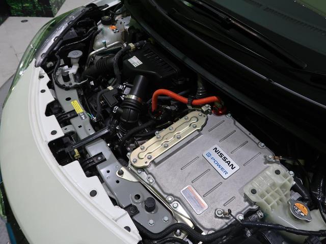 e-パワー X SDナビ 衝突軽減装置 車線逸脱警報 コーナンセンサー 横滑防止装置 スマートキー オートライト オートエアコン ETC 純正15AW 禁煙車(28枚目)