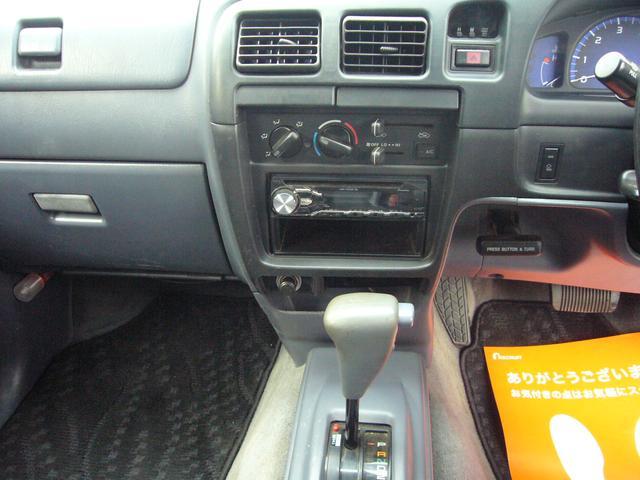 トヨタ ハイラックススポーツピック エクストラキャブ CDチューナー ローダウン エアバック