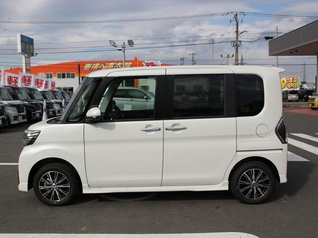 ダイハツ タント カスタムX トップエディションSAIII 届出済未使用車