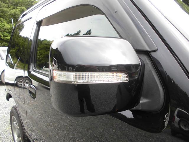 ワイルドウインド 4WDターボ リフトアップ 社外アルミ 前後社外カーボン調バンパー 社外マフラー 社外HDDナビ&フルセグテレビ&DVD&Bluetooth 専用レザーシート シートヒーター ルーフレール(14枚目)