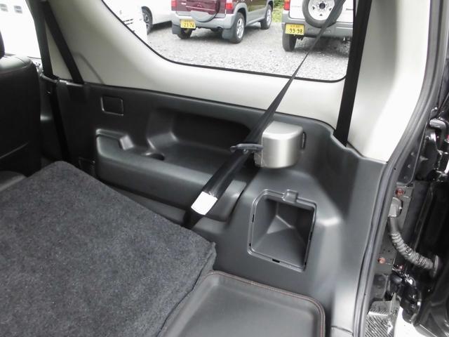 ワイルドウインド 4WDターボ リフトアップ 社外アルミ 前後社外カーボン調バンパー 社外マフラー 社外HDDナビ&フルセグテレビ&DVD&Bluetooth 専用レザーシート シートヒーター ルーフレール(58枚目)