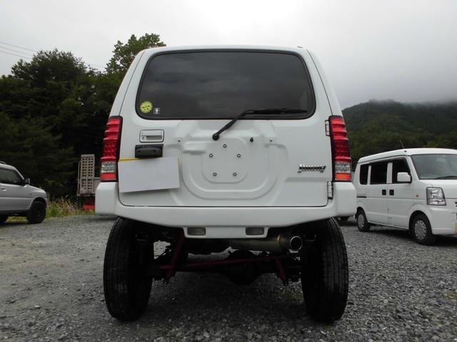 XC 4WDインタークーラーターボ 社外HDDナビ&DVD リフトアップ 社外16インチアルミ 前後社外バンパー 社外グリル 社外マフラー 社外LEDテールランプ フォグランプ マニュアル5速 ルーフレール(12枚目)