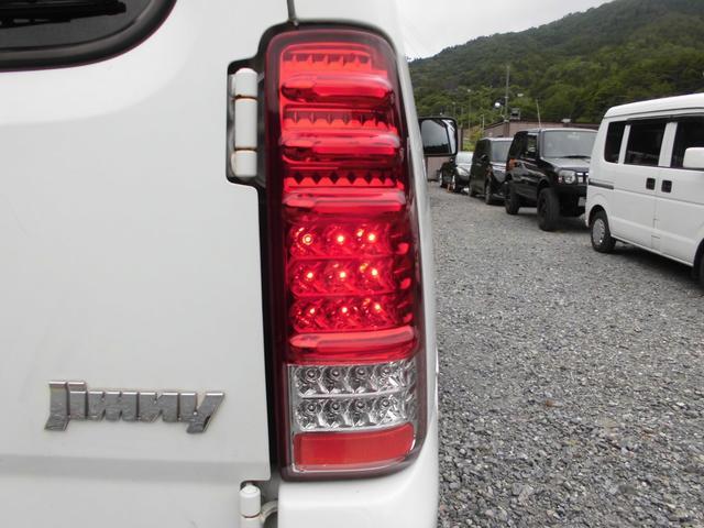XC 4WDインタークーラーターボ 社外HDDナビ&DVD リフトアップ 社外16インチアルミ 前後社外バンパー 社外グリル 社外マフラー 社外LEDテールランプ フォグランプ マニュアル5速 ルーフレール(22枚目)