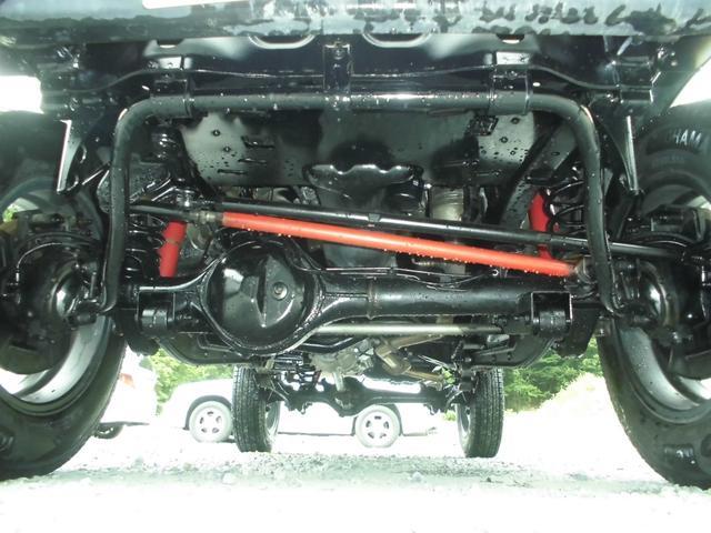 XC 4WDインタークーラーターボ 社外HDDナビ&DVD リフトアップ 社外16インチアルミ 前後社外バンパー 社外グリル 社外マフラー 社外LEDテールランプ フォグランプ マニュアル5速 ルーフレール(27枚目)