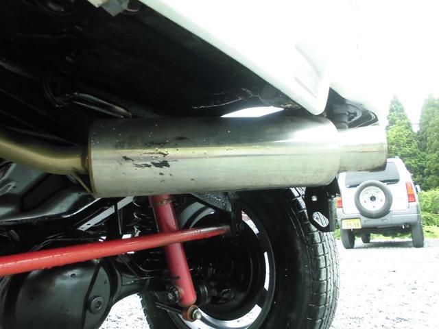 XC 4WDインタークーラーターボ 社外HDDナビ&DVD リフトアップ 社外16インチアルミ 前後社外バンパー 社外グリル 社外マフラー 社外LEDテールランプ フォグランプ マニュアル5速 ルーフレール(33枚目)