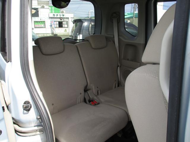 後部座席のシートになります!広々としており、開放感があるので疲れにくく、とっても座りごことが良いです☆
